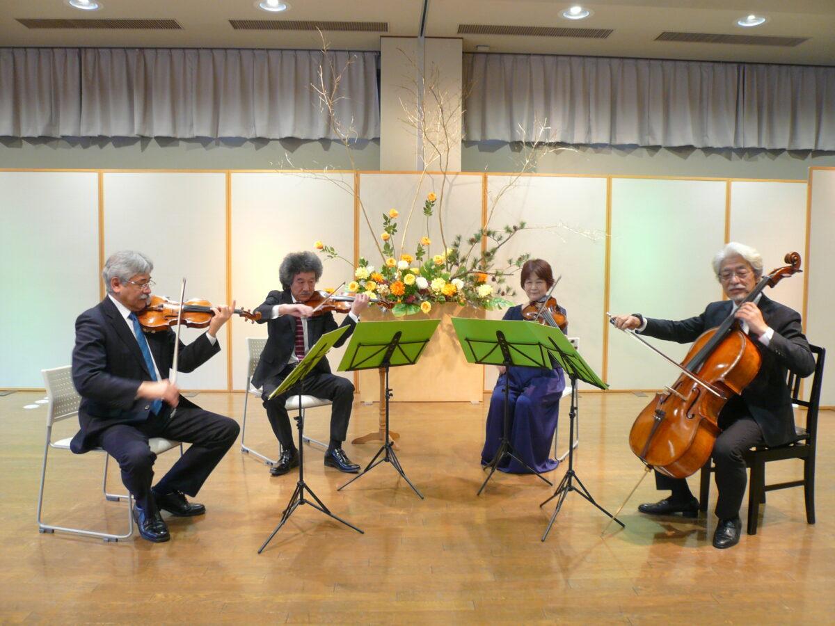 イベント:秋保・里センター クリスマス弦楽四重奏コンサート