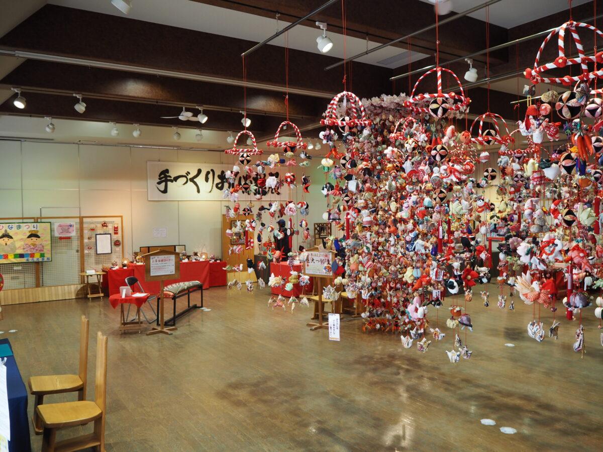 イベント:秋保・里センター「第20回手づくりおひな様展」
