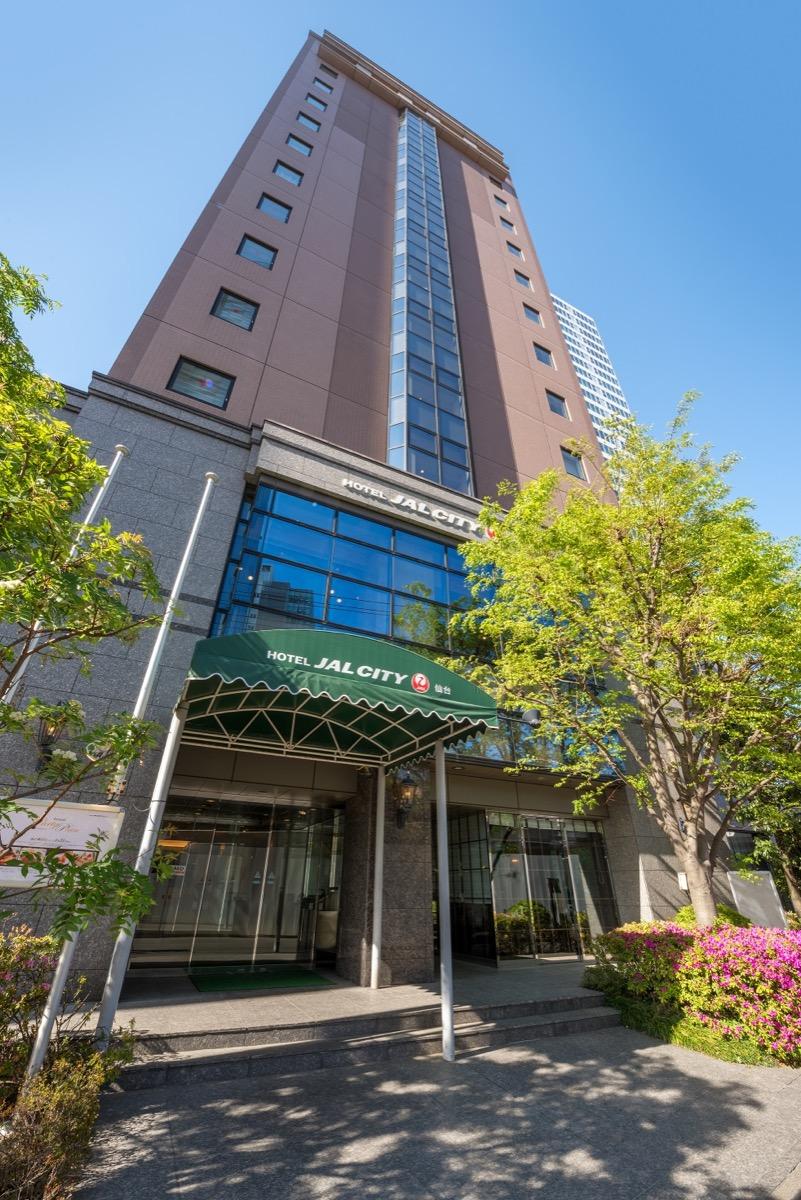 ホテルJALシティ仙台外観