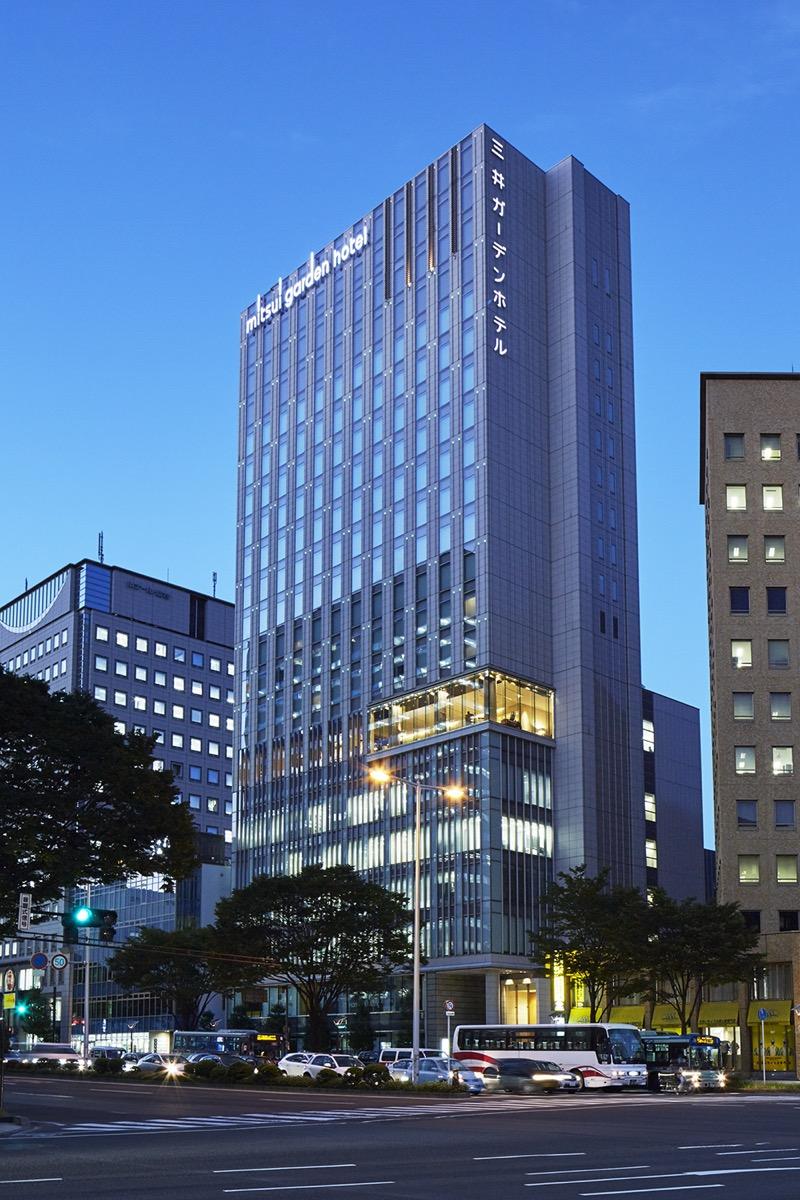 三井ガーデンホテル仙台外観