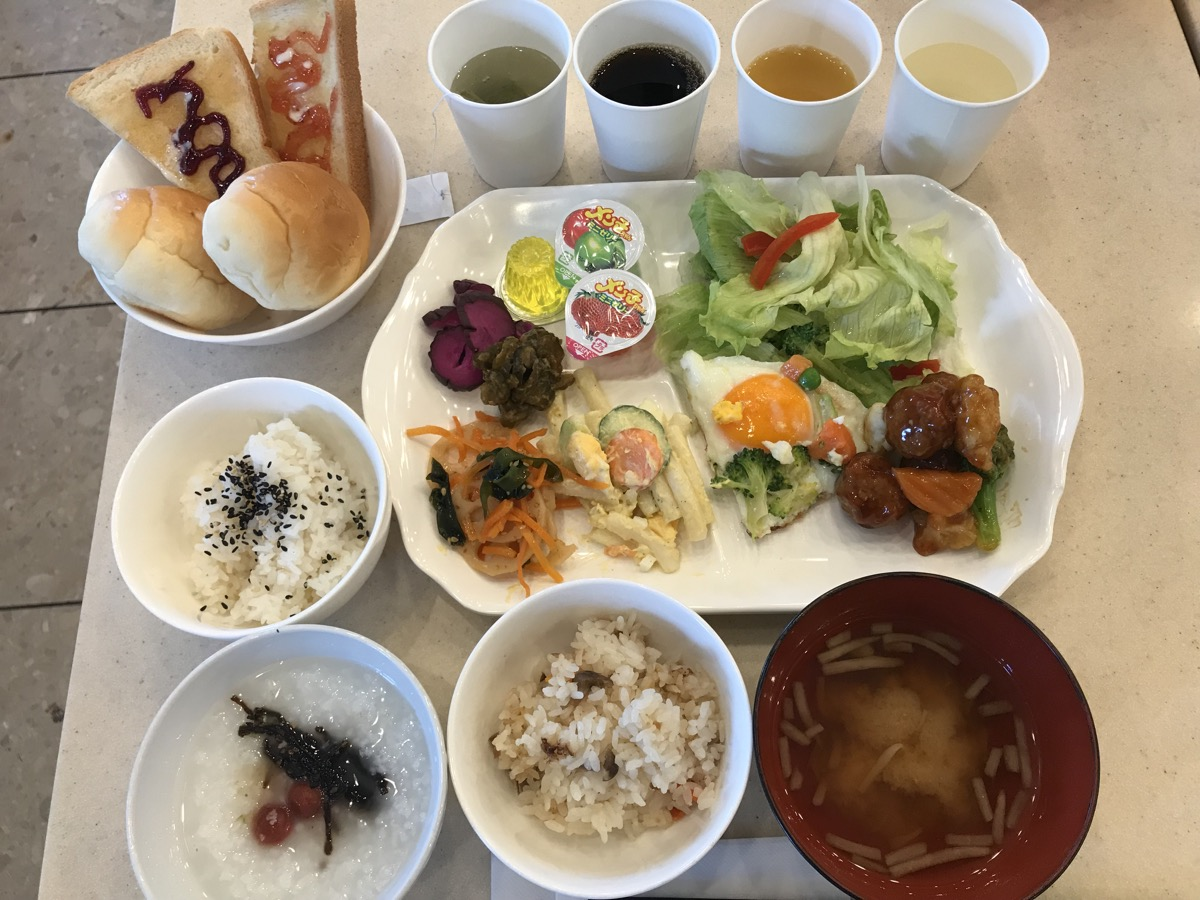 東横INN仙台東口2号館朝食