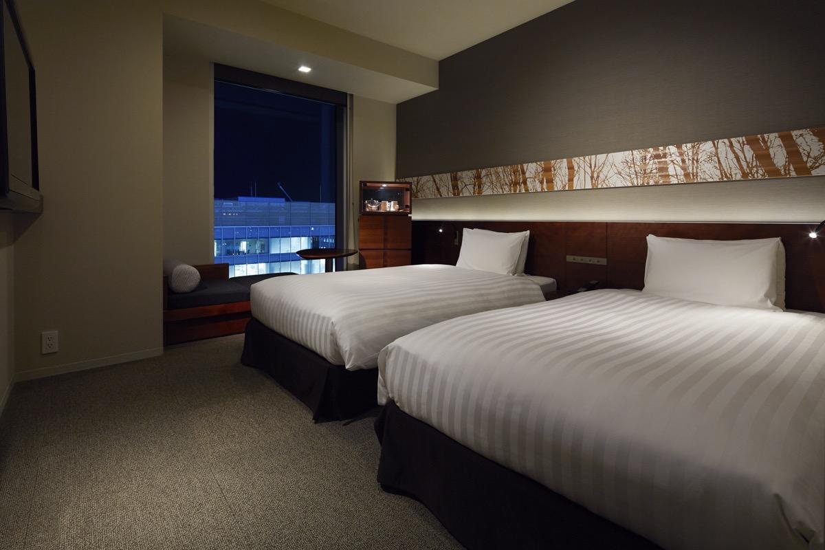 三井ガーデンホテル仙台客室(スタンダードツイン)