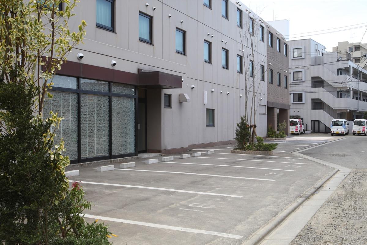 ホテルグリーンウィズ駐車場
