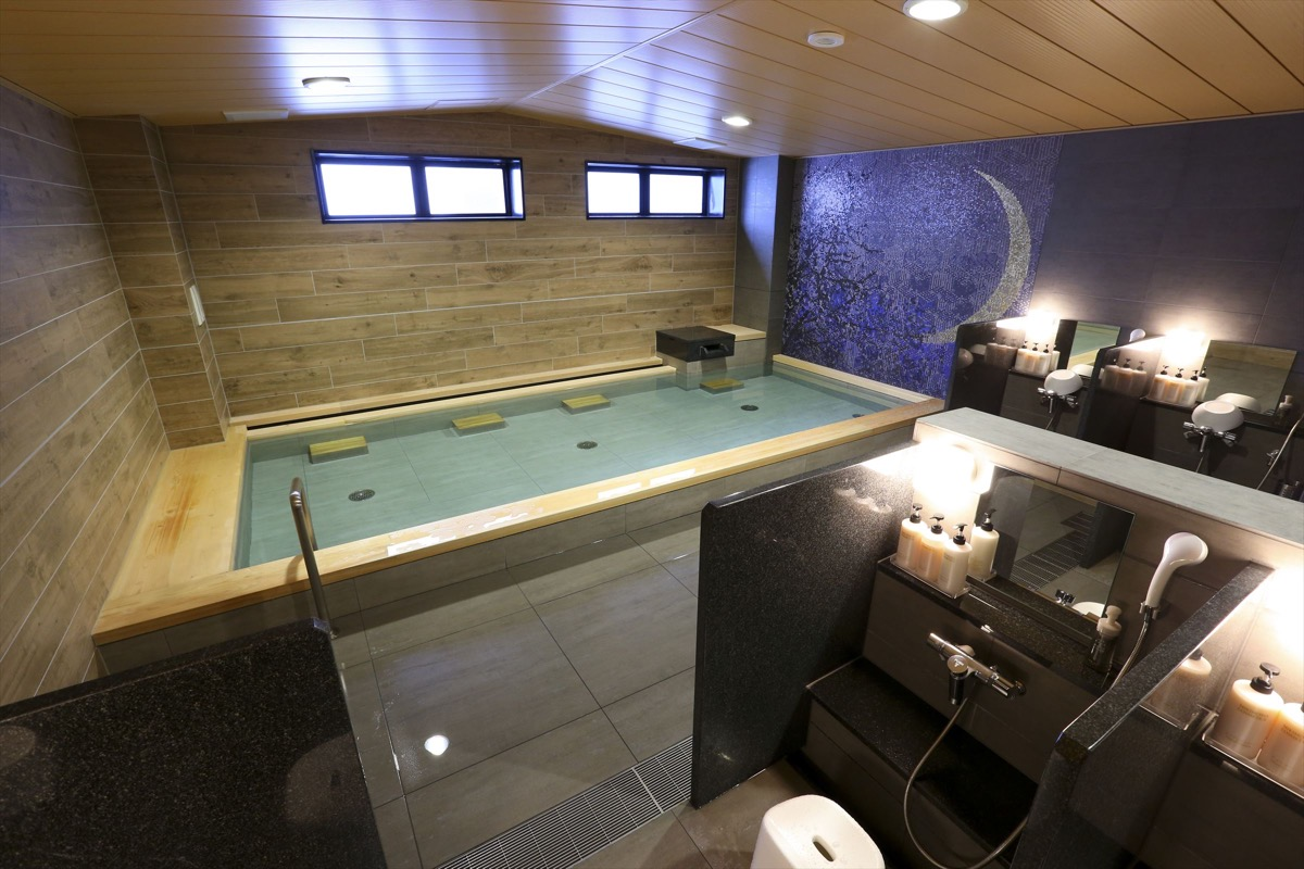 アルモントホテル仙台大浴場