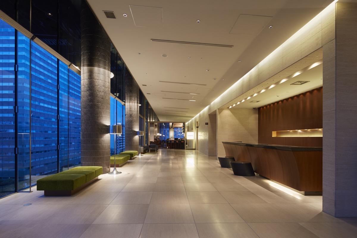 三井ガーデンホテル仙台ロビー