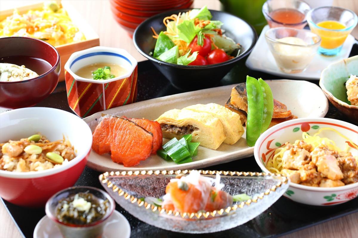 アルモントホテル仙台朝食