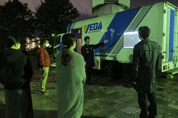 イベント:仙台市天文台移動天文台~ベガ号で星空ウォッチング~