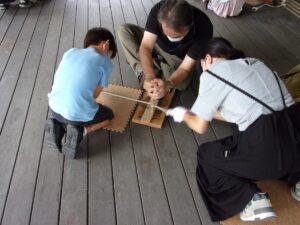 仙台市縄文の森広場 夏休み子ども考古学教室