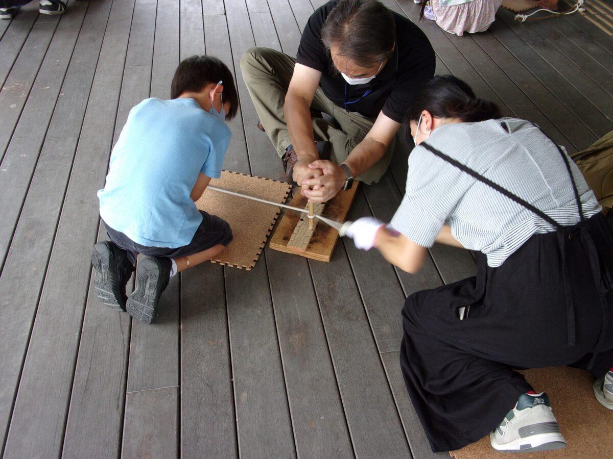 イベント:仙台市縄文の森広場 夏休み子ども考古学教室