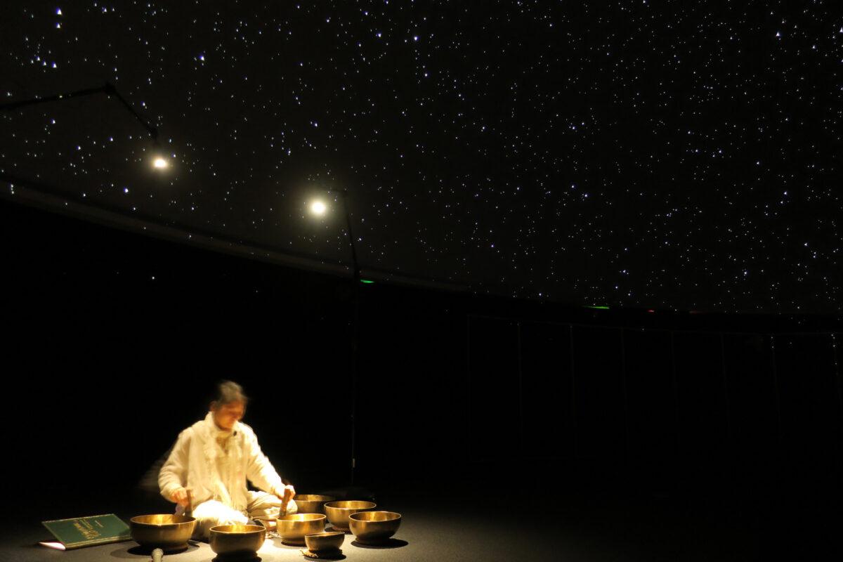 ジャンル:仙台市天文台 星に願いを音どけする「チベッタンシンギングボウル」の調べ