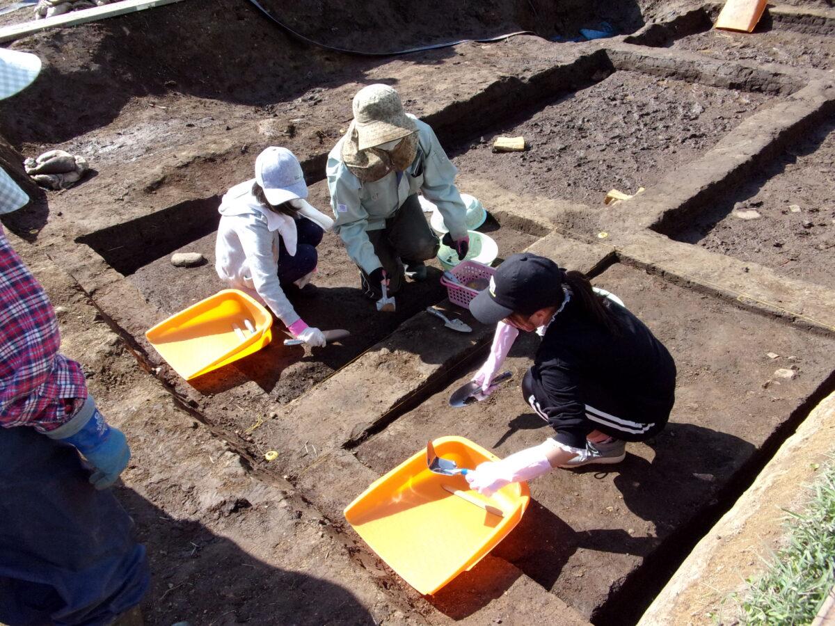 ジャンル:仙台市縄文の森広場 発掘体験講座
