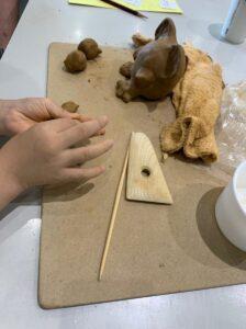 仙台市縄文の森広場 週末体験講座「干支の土製品づくり」